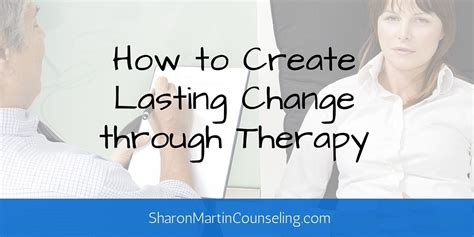 how to make your a therapy how to create lasting change through therapy martin codependency counseling