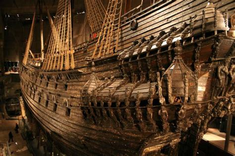 foto vasa museum ship seen from stockholm