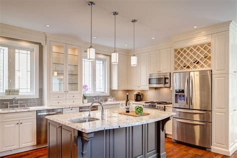 kosher kitchen design alaska white granite for a traditional kitchen with a gray