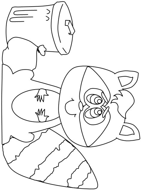 baby raccoon coloring pages baby raccoon coloring pages coloring home
