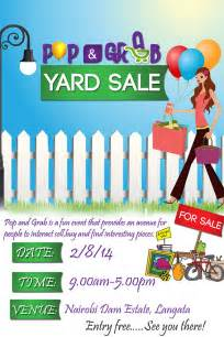 yard sale flyer template 14 best yard sale flyer templates psd designs free