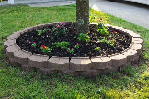 how to prepare a flower bed 12 amazing ideas for flower beds around trees