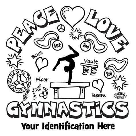 Gymnastics Colouring Pages Gymnastics Coloring Pages Selfcoloringpages Com by Gymnastics Colouring Pages