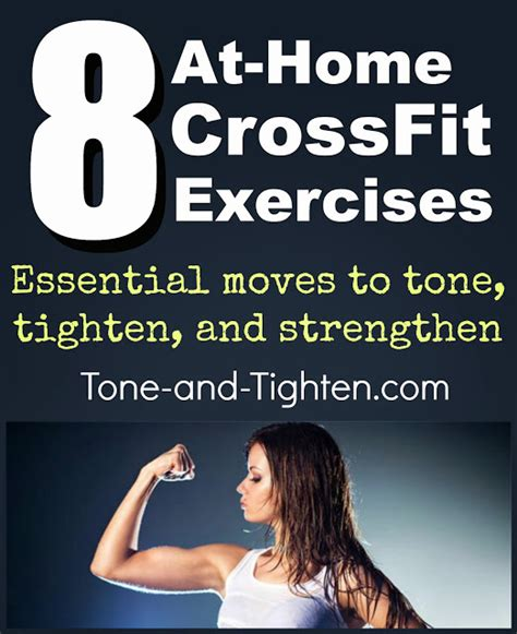 8 crossfit exercises you can do at home no equipment