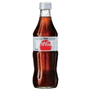 Teh Gelas 330ml Kotak coca cola diet coke glass bottle 330ml cos complete