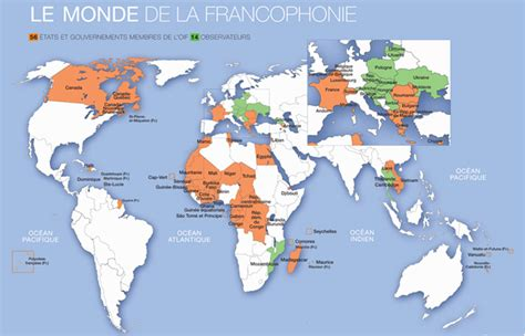 countries where is official language world the link