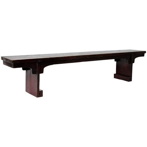 narrow rectangular dining table chinese narrow rectangular table at 1stdibs