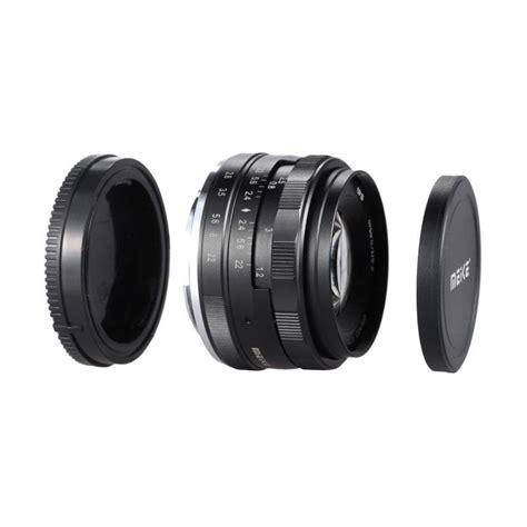 jual meike 50 mm aps c f2 0 lensa kamera for sony mirrorless harga kualitas terjamin