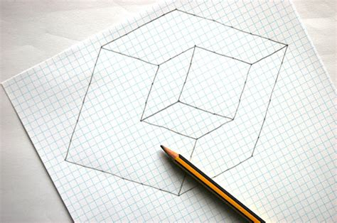 How To Make Illusions On Paper - optical illusions cubes and illusions on