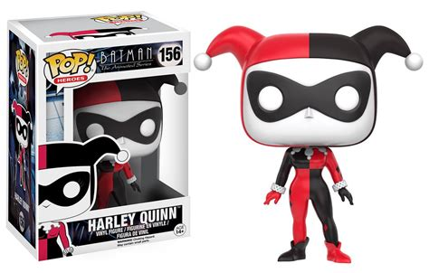 pop heroes batman the animated series harley quinn funko