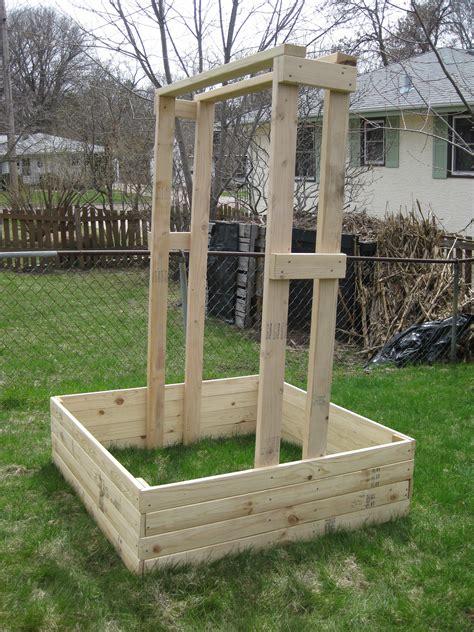 building trellises cucumber trellis the garden experiment