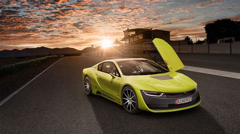 Ultra Hd Car Wallpapers 8k Resolution by Rinspeed Etos Concept Bmw I8 Self Driving Car Wallpaper