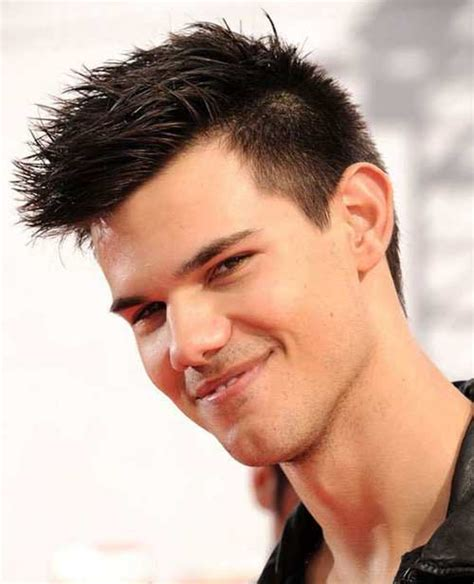 Lautner Hairstyle by Lautner Faux Hawk Hair Models Picture