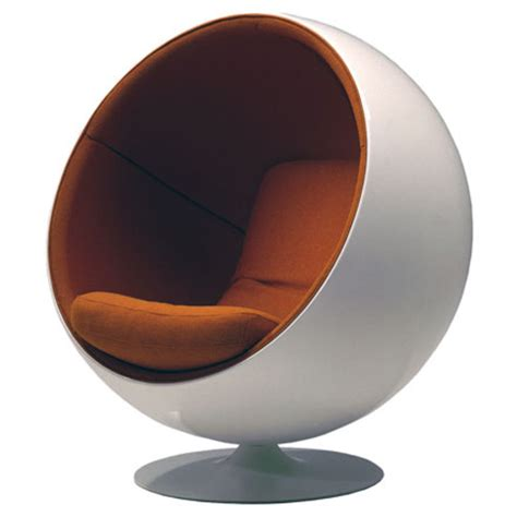 iconic 20th century chairs ball chair