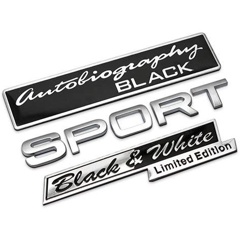 Emblem Sports Chroom autobiography limited edition sport chrome metal car