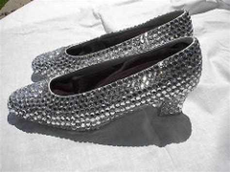 silver slippers wizard of oz silver shoes sequin cinderella the wizard of