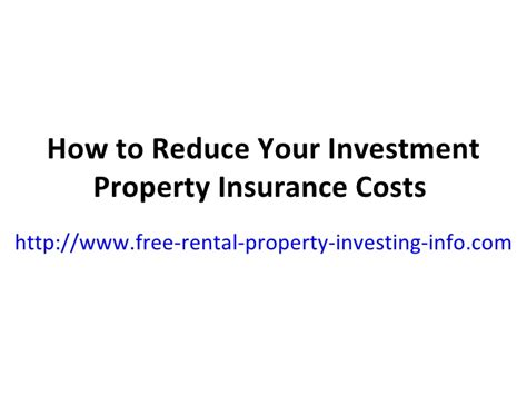 how to downsize your belongings how to reduce your investment property insurance costs
