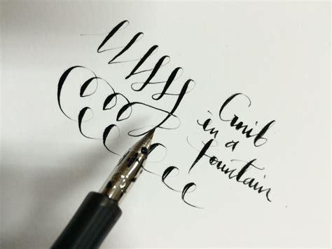 Drawing G Pen by Review Desiderata Pen With A G Nib Matte Black