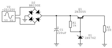2n3055 alimentatore 2n3055 cfp manfredini settore energie