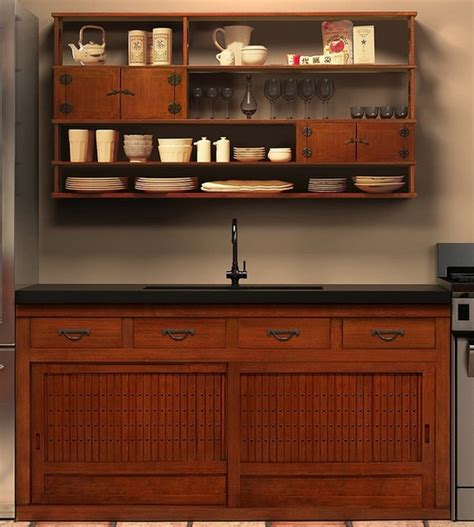 japanese style kitchen cabinets japanese style kitchen and cabinetry abode pinterest