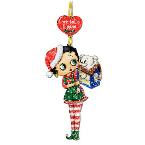 betty boop glitter ornaments your 1st one is free the