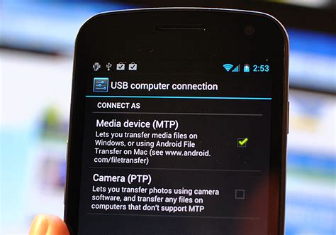 android mtp sandwich explained mtp what is it why use it and how to set it up android central