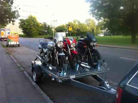 Motorradanh Nger 6 Motorr Der Mieten by Motorradtransport F 252 R 3 Motorr 228 Der Anh 228 Nger Mieten