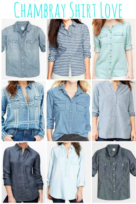 Becky Chambray Shirt Point One add this to your closet a chambray shirt the joyful home