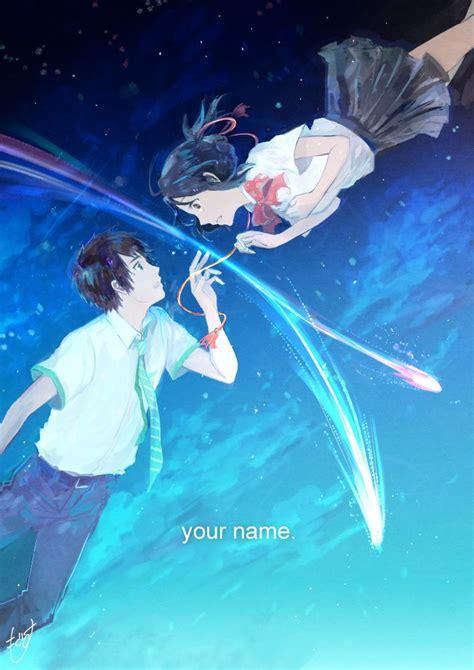 Anime Your Name by 星が降った日 Kimi No Na Ma Anime Anime