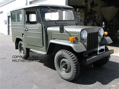 Japanese Army Jeep Militaryjeep Mitsubsihi Japanese Jeep 818 772 0806