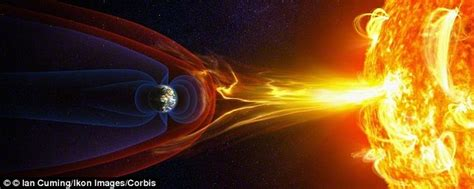 Water Escudo 20 earth s protective shield magnetosphere is weakening