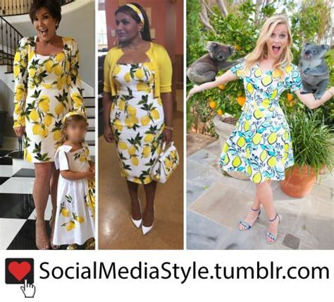 mindy kaling lemon dress 357 best who wore it better and celebrity favorites images