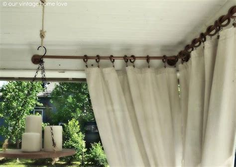 ways to hang drop cloth curtains rustoleum universal hammered spray on pvc pipe to hang
