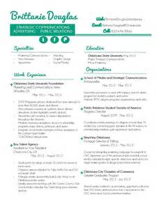 Resume Visual Tips Visual Resume B U S I N E S S