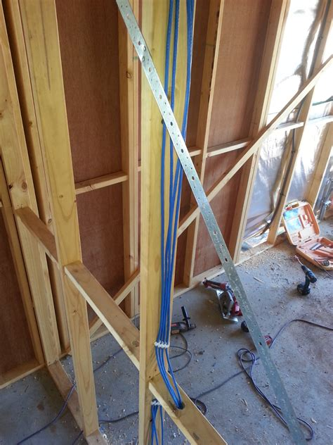 how to wire ethernet through house wiring up a new house with ethernet a walk through reckoner