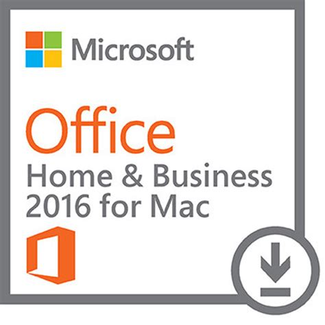 Ms Office Home Business microsoft office home business 2016 for mac w6f 00465 b h
