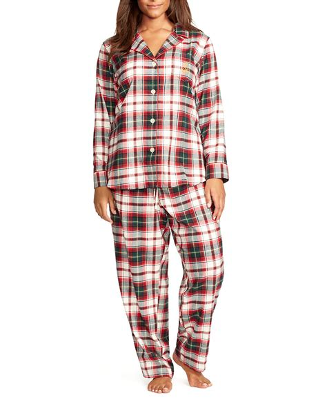 Burberry Pajamas 2 Set by ralph plus 2 plaid pajamas