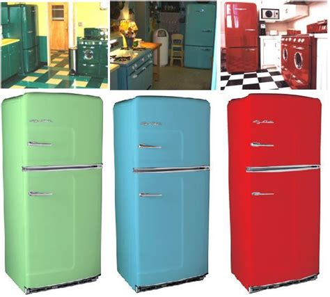 latest kitchen appliances big chill retro refrigerators latest trends in home
