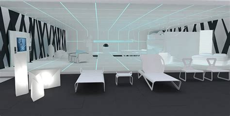 tron inspired home interiors  dupont