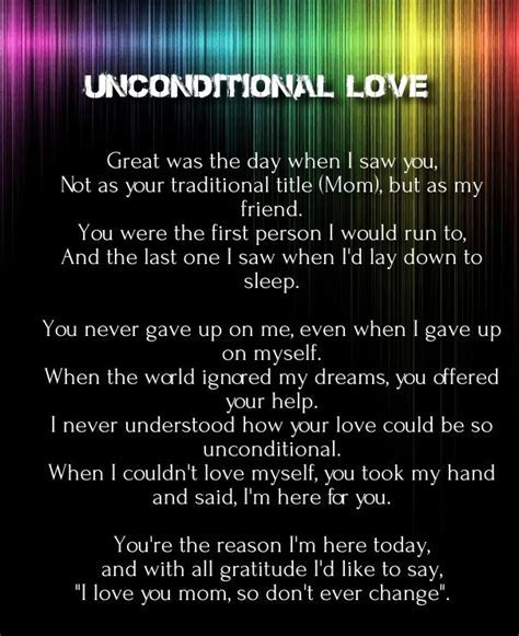 unconditional love poems and quotes girlfriend   Love