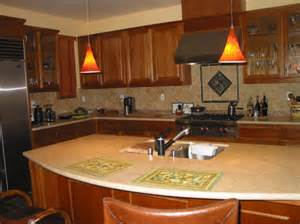 Kitchen island rounded lengthwise photo credit cc licensed flickr