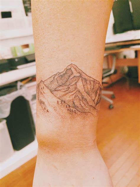 mountain wrist tattoo 14 mountain tattoos on wrists