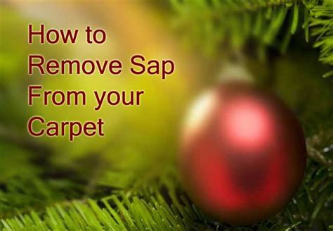how to get sap tile floor how to remove sap from carpet