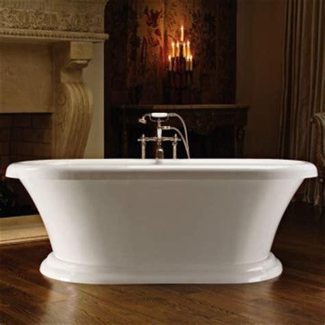 72 Inch Freestanding Bathtub Mti Melinda 72 Inch Pedestal Acrylic Freestanding Tub