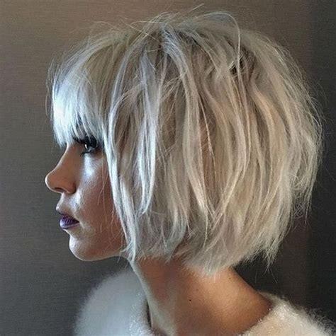 gray long shaggy hairstyles with low undertones for women over 60 le carr 233 blunt bob la nouvelle coupe de cheveux tendance