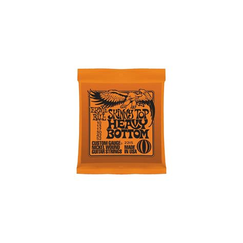 Terbatas Senar Ernie Slinky Top Heavy Bottom Original Usa ernie top heavy bottom electric guitar strings 10 52