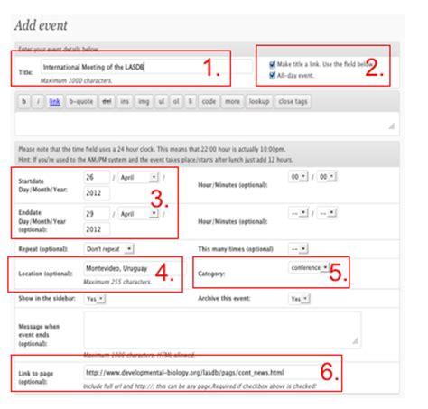 Add Events To Calendar Adding Events To The Node Calendar The Node