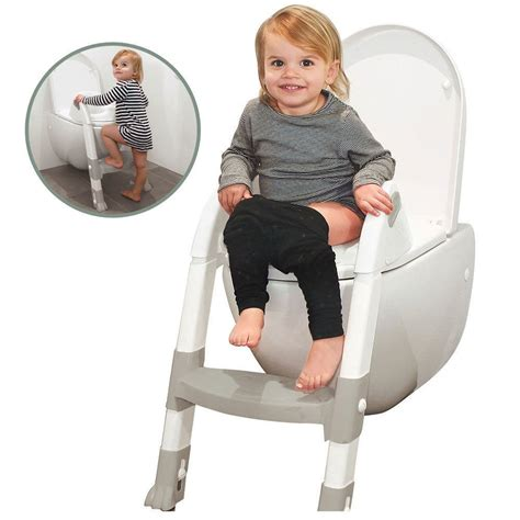 potty time ultimate toilet trainer seat ladder toddler