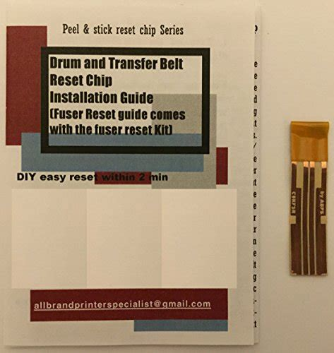 reset oki fuser super easy drum transfer belt and fuser reset solution