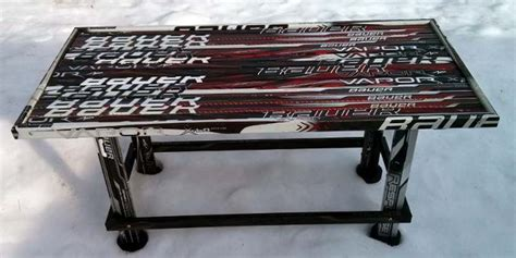 hockey stick coffee table pdf diy hockey stick coffee table plans home wine